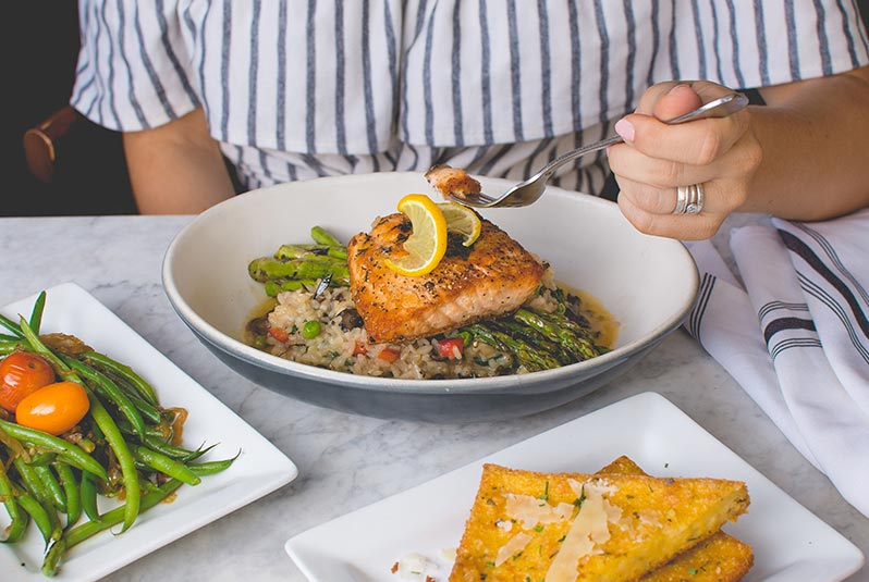 Salmon is a natural superfood that improves performance