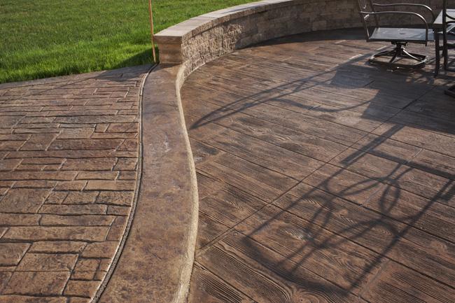Unique-Crete Designs: Stamped Concrete Trends for 2015