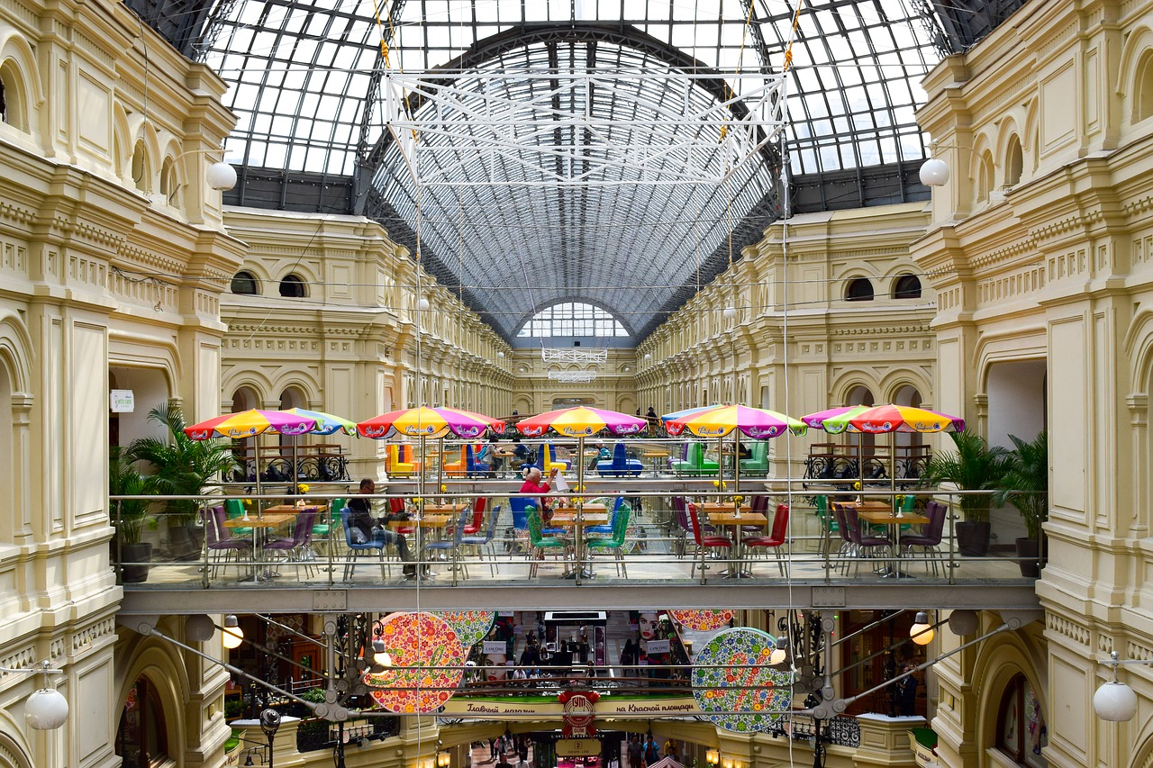 GUM departmental store - moscow