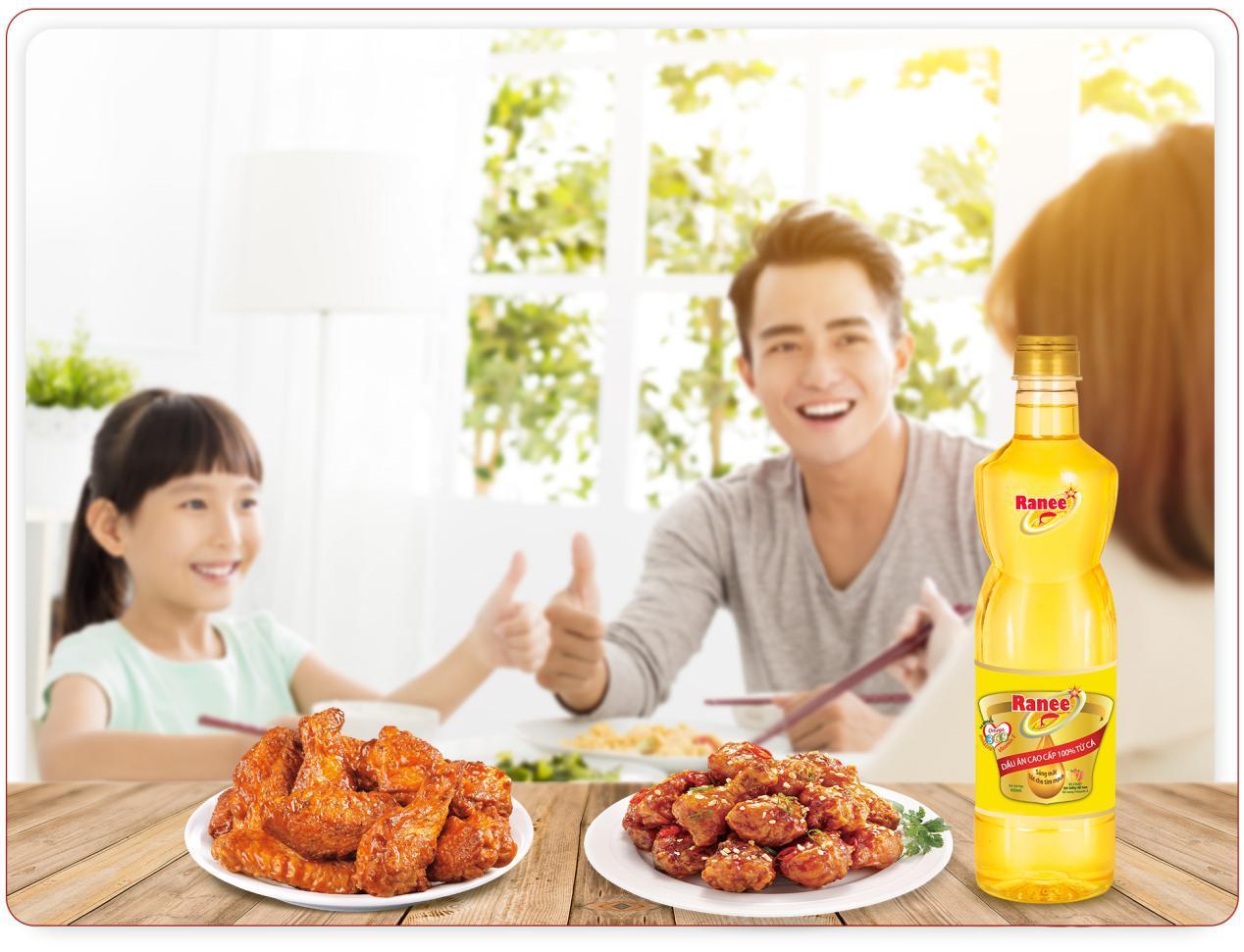 bữa ăn gia đình ranee