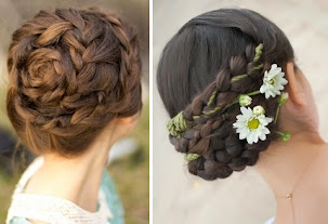 complicated braids pulsated round