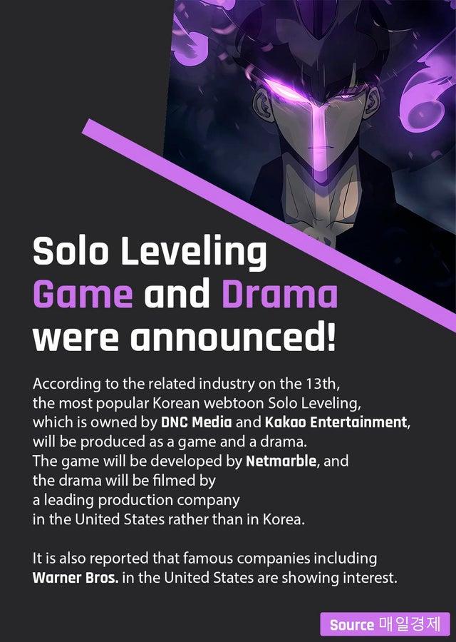 r/sololeveling - Breaking news!