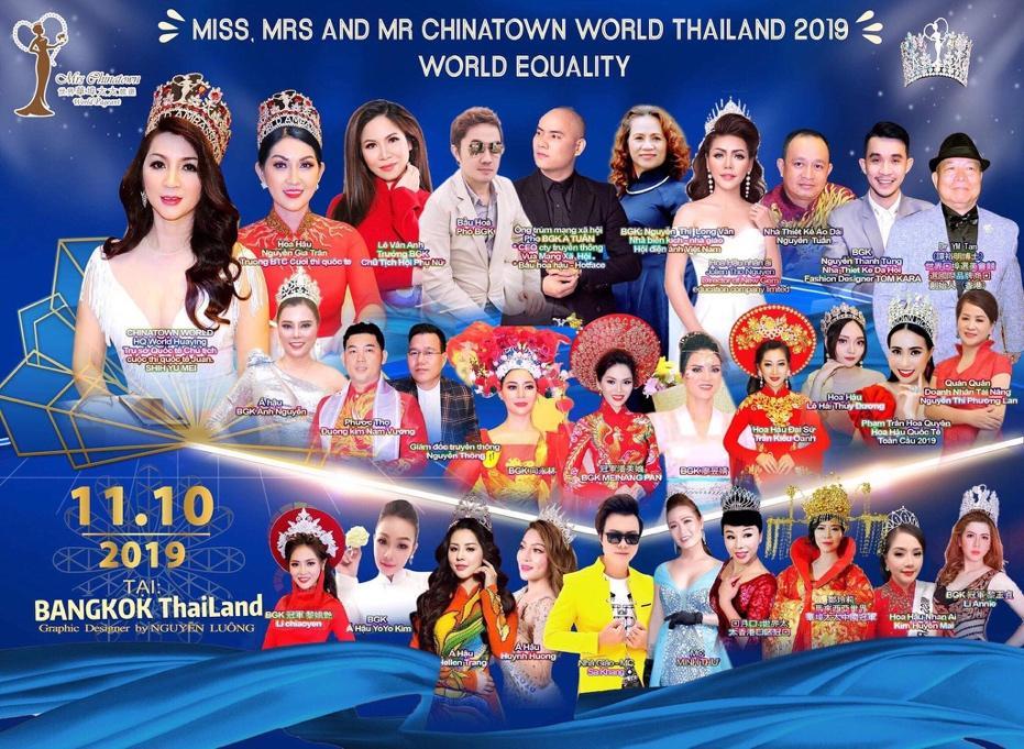 Ông trùm MXH A Tuân & Hoa hậu Nguyễn Gia Trân ngồi ghế nóng Hoa Hậu - Nam Vương tại Thái Lan  - Ảnh 2