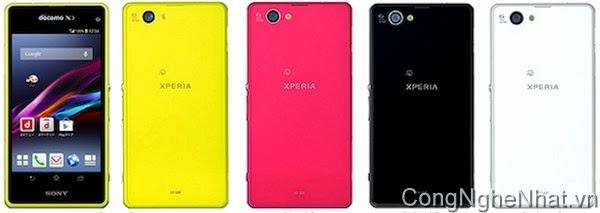 Sony Xperia Z1f (Z1 Mini) 19/12 chính thức phát hành