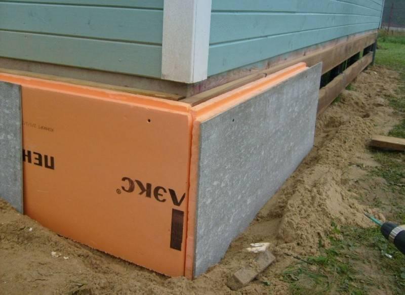 Отделка шифером и цементно-стружечной плитой