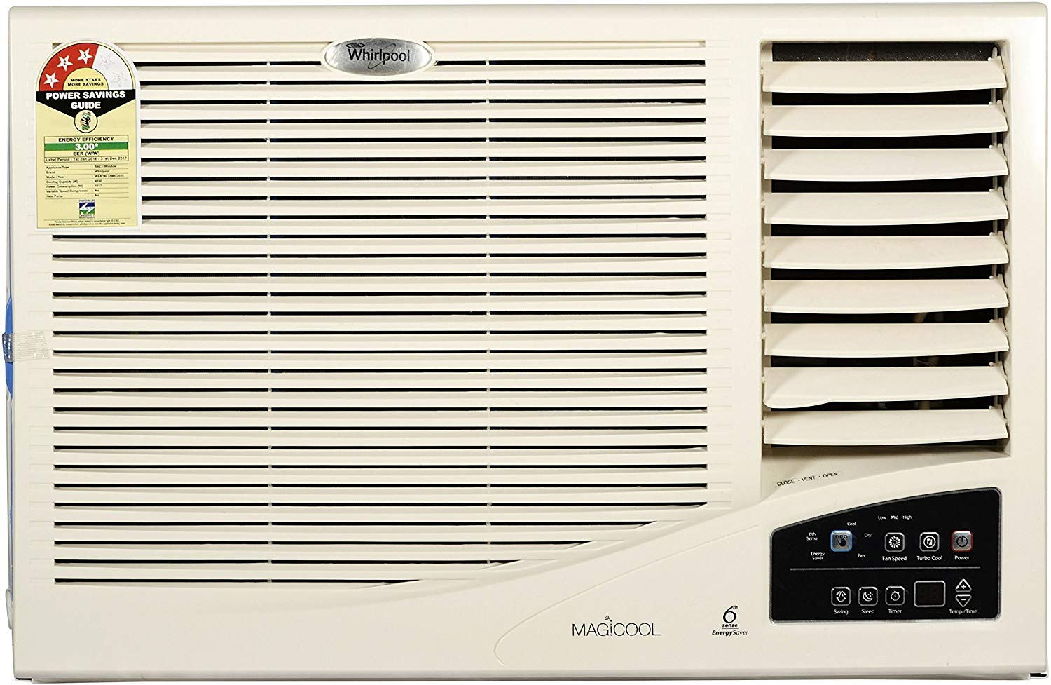 Whirlpool 1.5 Ton Window AC