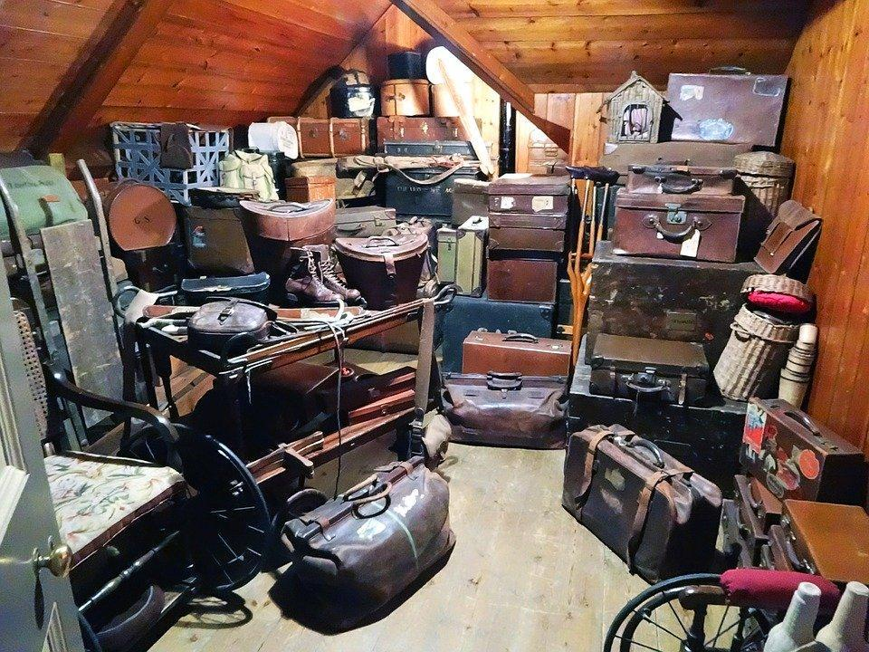 Luggage, Trunk, Storage, Stock, Storage Closet, Travel