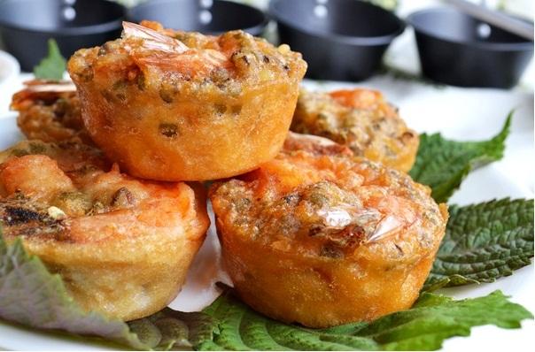 Bánh cống (còng) Cần Thơ, một món ăn dân dã mà ngon miệng