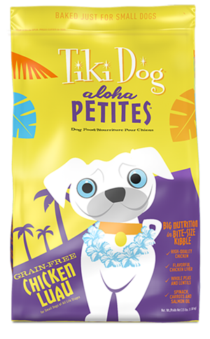 Tiki Dog Aloha Petites Chicken Luau