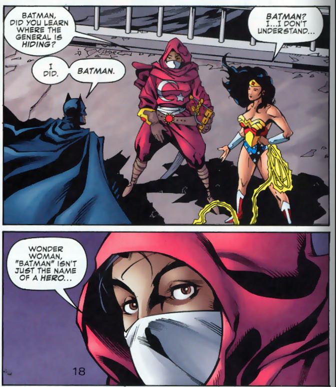 Batman goes to Batman