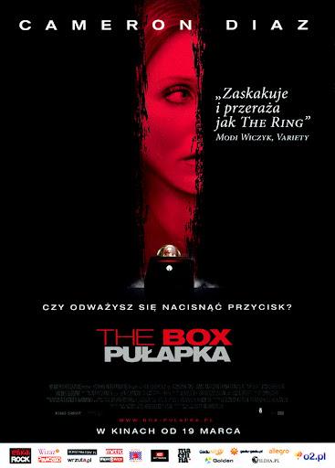Przód ulotki filmu 'The Box. Pułapka'