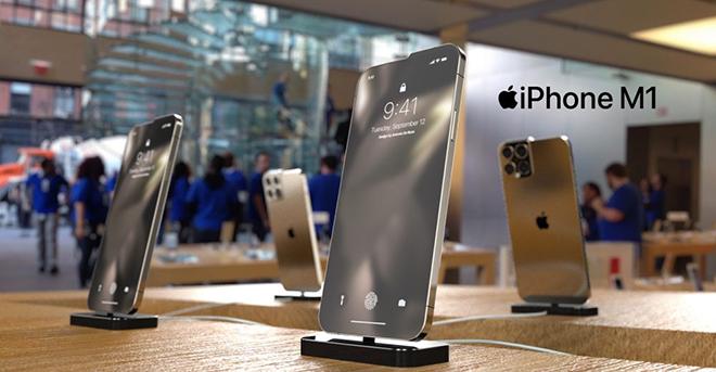 """Hình dung iPhone M1 với """"tai thỏ"""" lạ khiến iFan mắt tròn mắt dẹt - 3"""