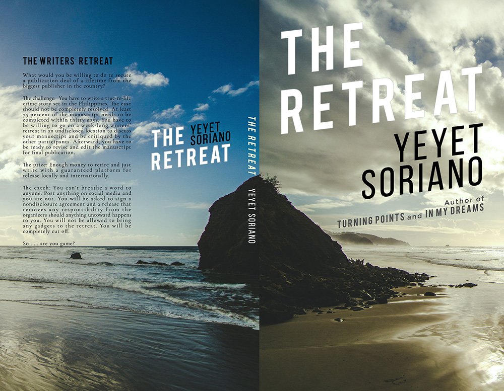 THE RETREAT Cover with Blurb