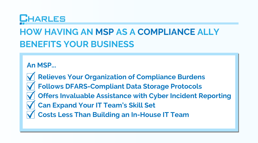 5 Ways an MSP Is Your Biggest Compliance Ally