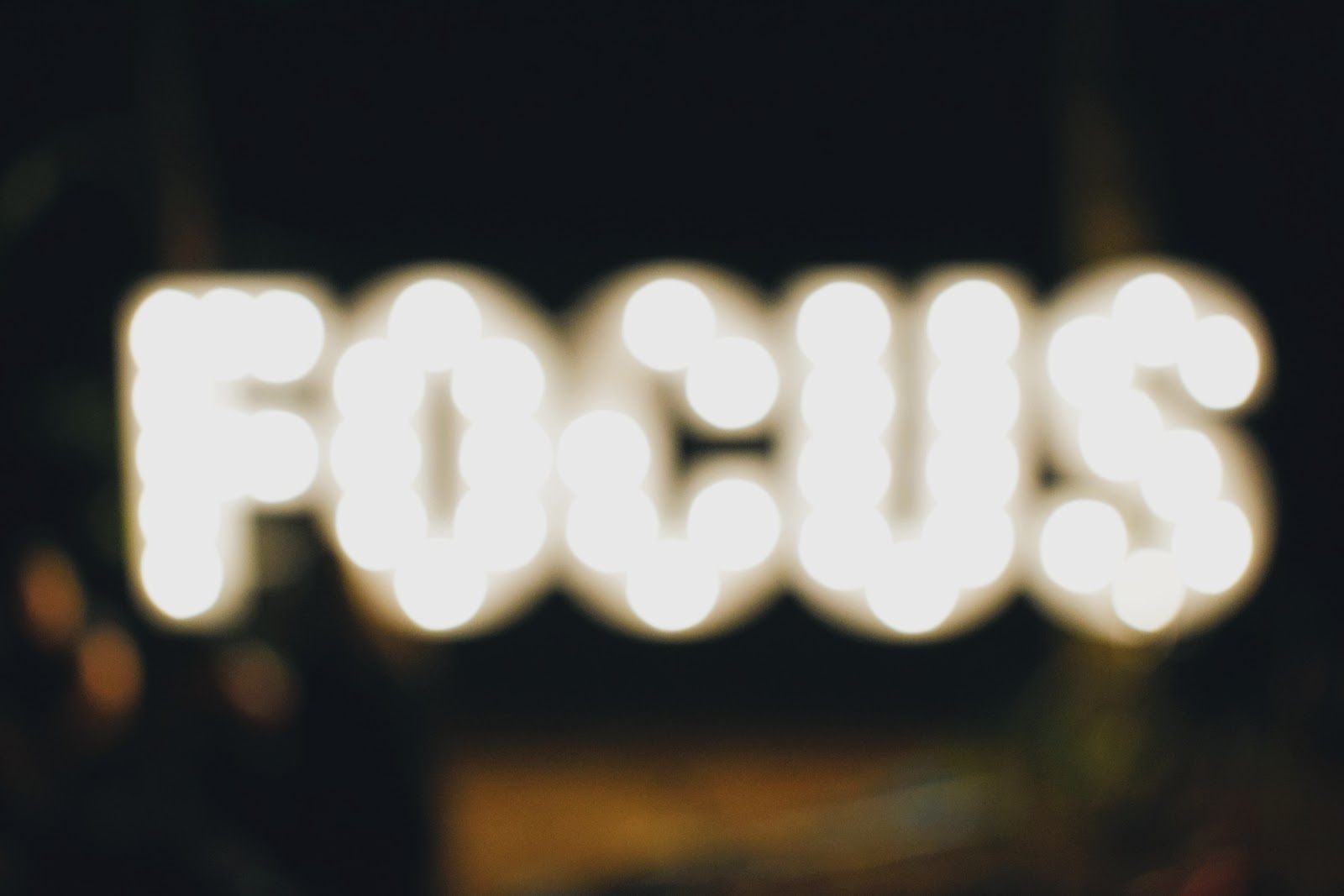 11 tips on how to stay focused in a hectic world