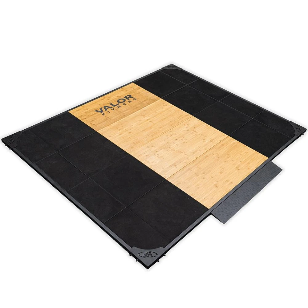 Valor Fitness Ptfm-1 Olympic Weightlifting Platform is a premium weightlifting platform meant for bodybuilders, athletes, and people who are into competitive sports