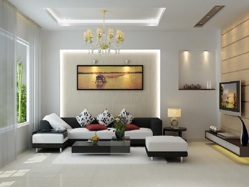 Kết quả hình ảnh cho nội thất phòng khách hiện đại