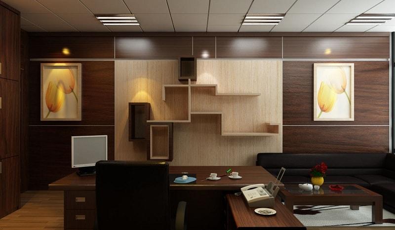 Thiết kế nội thất văn phòng theo phong cách đương đại