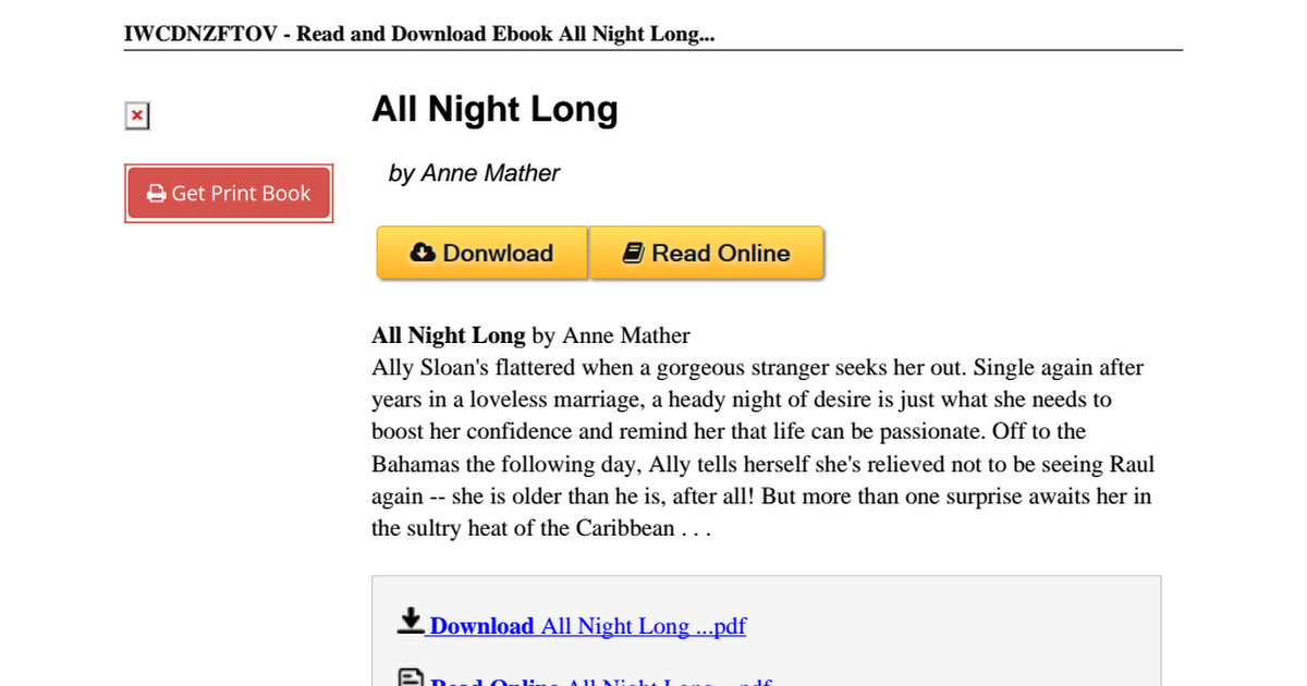 All-Night-Long-Anne-Mather-0263167720 pdf - Google Drive