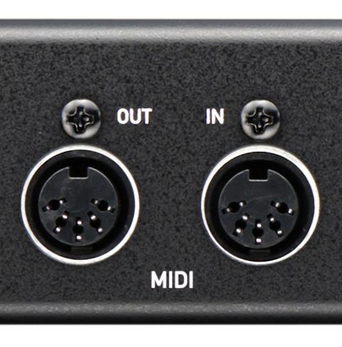 Entrées et sorties MIDI