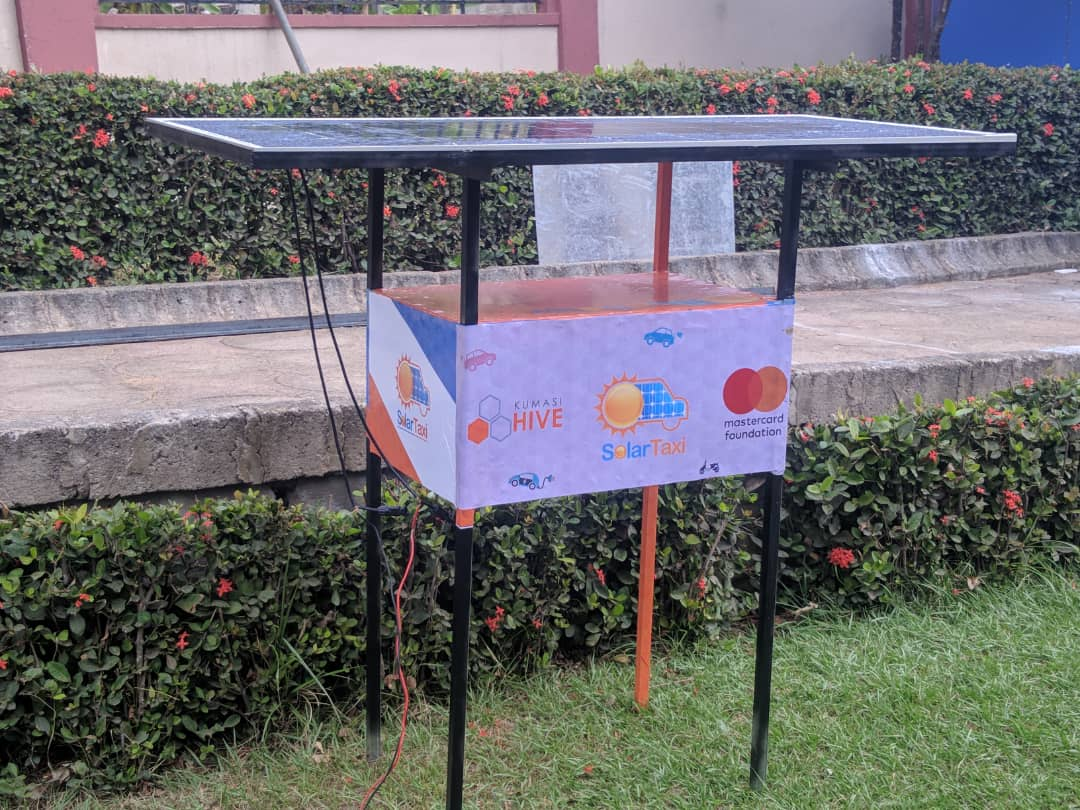 Kumasi Hive and Mastercard Foundation Solar Hub for SolarTaxi image on gharage