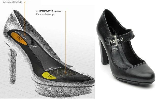 zapatillas con taco alto adidas