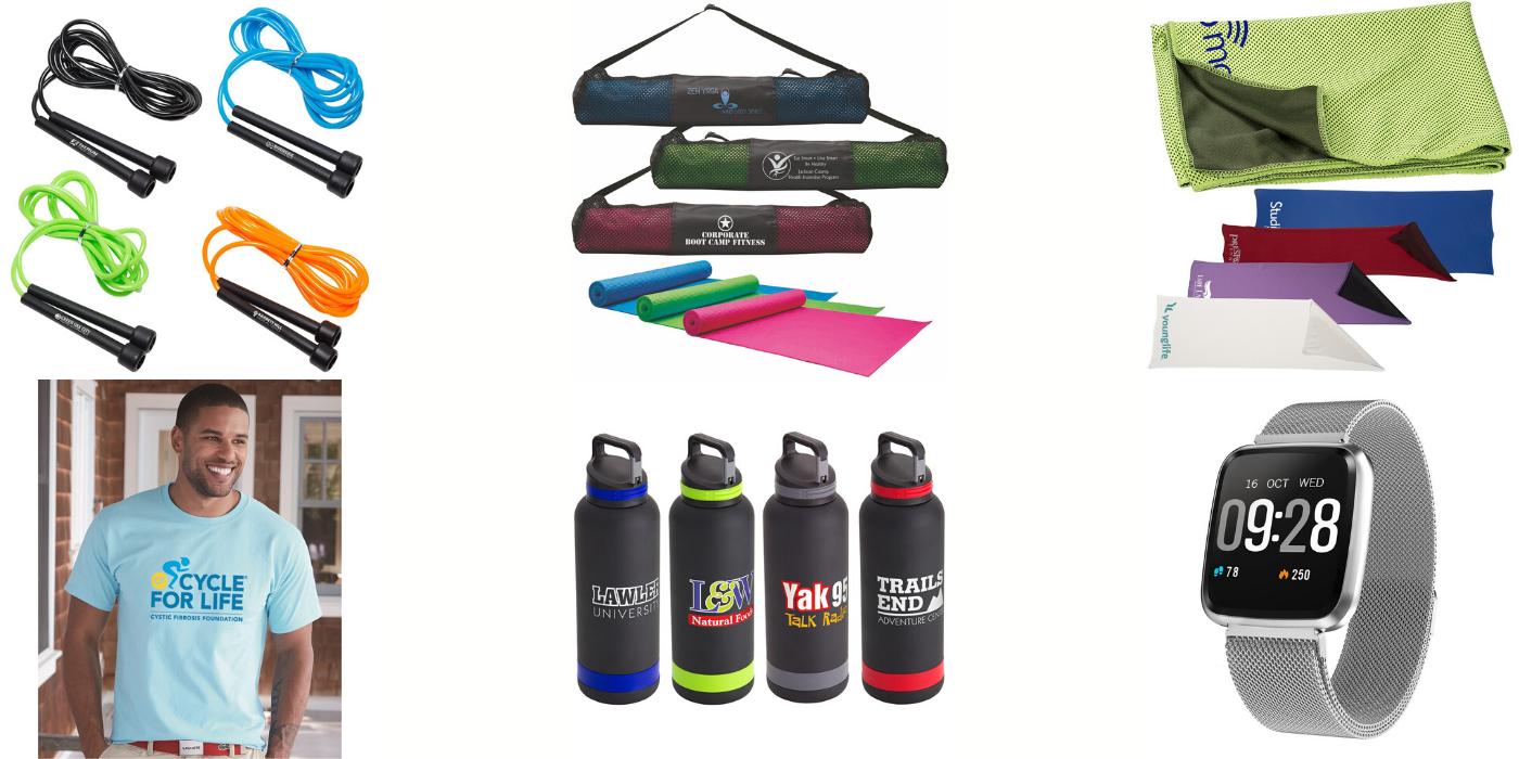 branded fitness gear