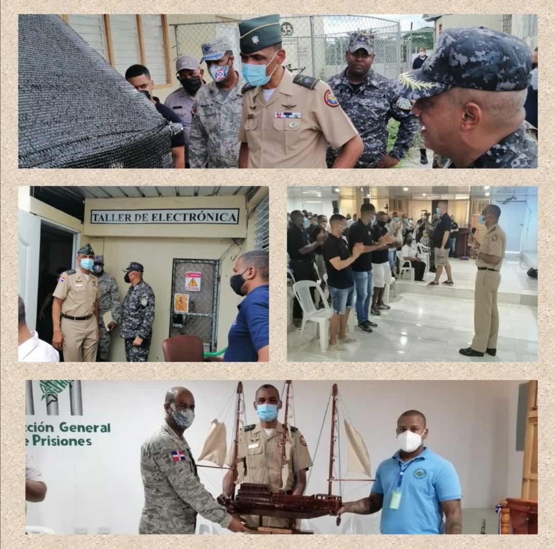 Director escuelas vocacionales visita penitenciaria nacional la victoria