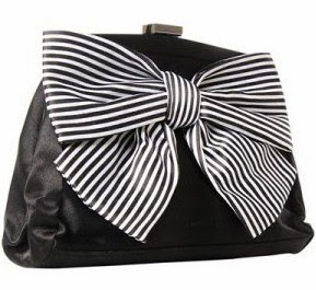 fashion clutch white and black bags