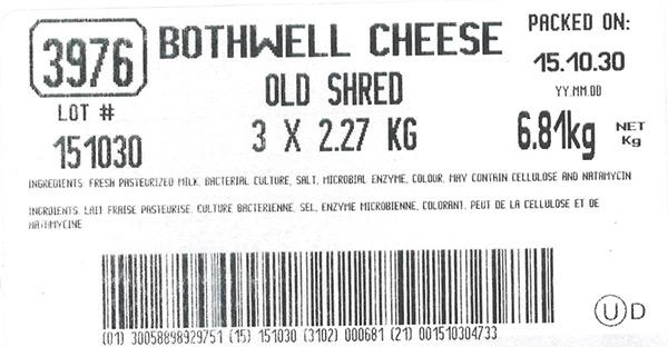 Old Shred - 6.81 kg (3 x 2.27 kg)