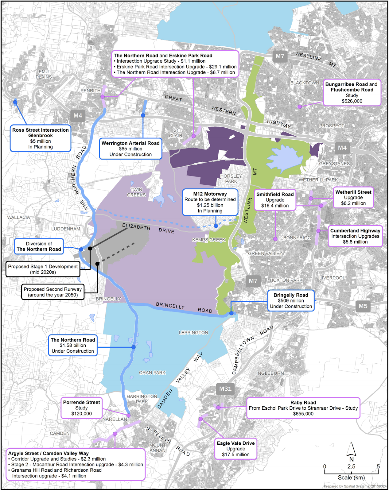 Western Sydney Airport - Roads & Intersections