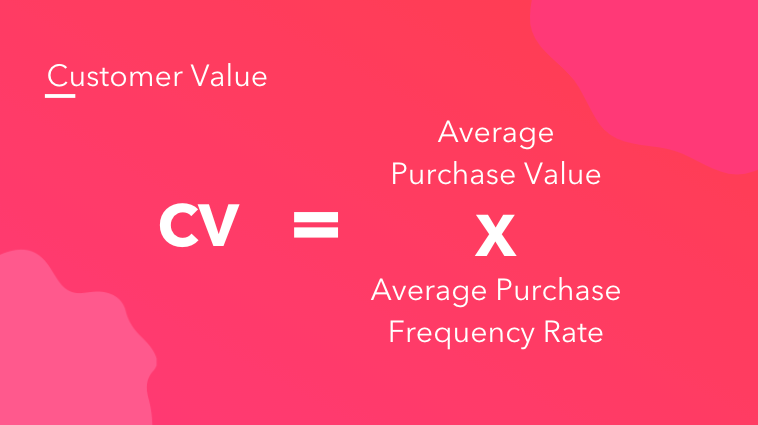 Customer Value formula