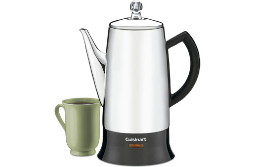 Cuisinart PRC-12 Classic Stainless-Steel Electric Percolator