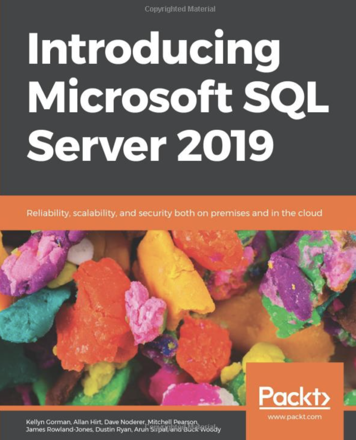 Cover of Introducing Microsoft SQL Server 2019