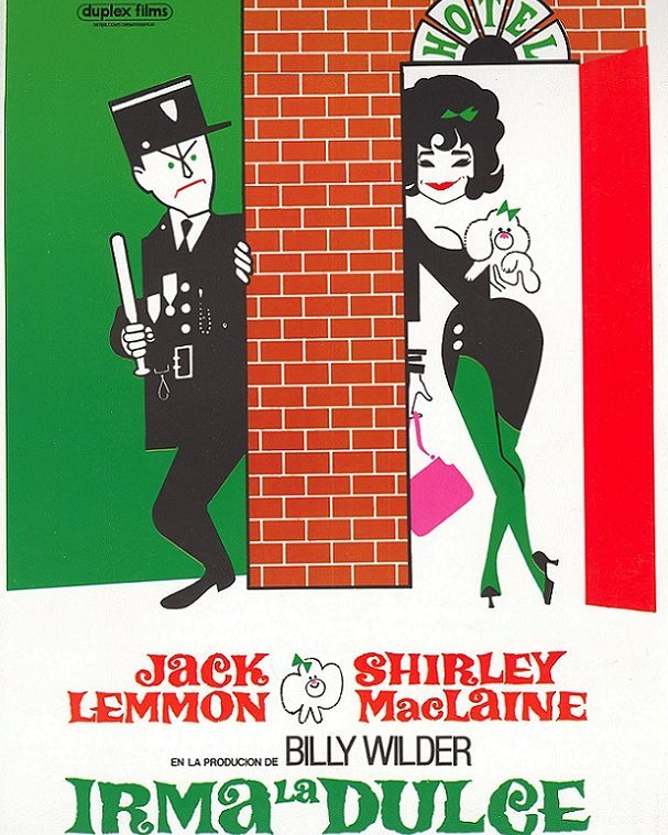Irma la dulce (1963, Billy Wilder)