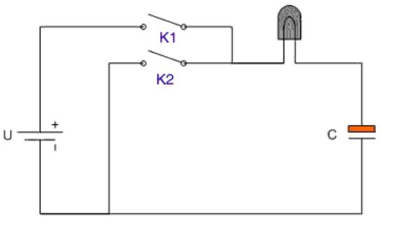 Sự phóng nạp của tụ điện