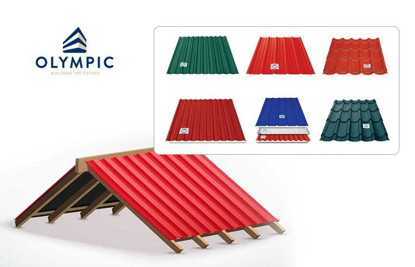 Tôn Olympic đáp ứng mọi nhu cầu của gia chủ