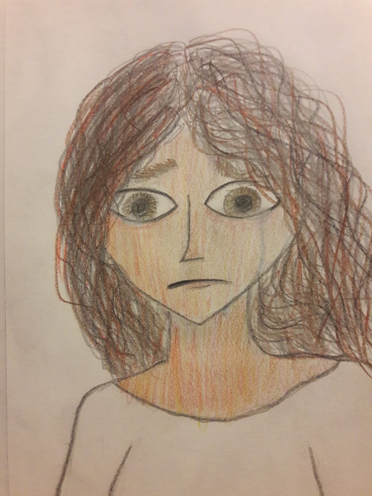 worried-looking woman