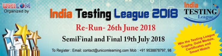 India Testing League 2018