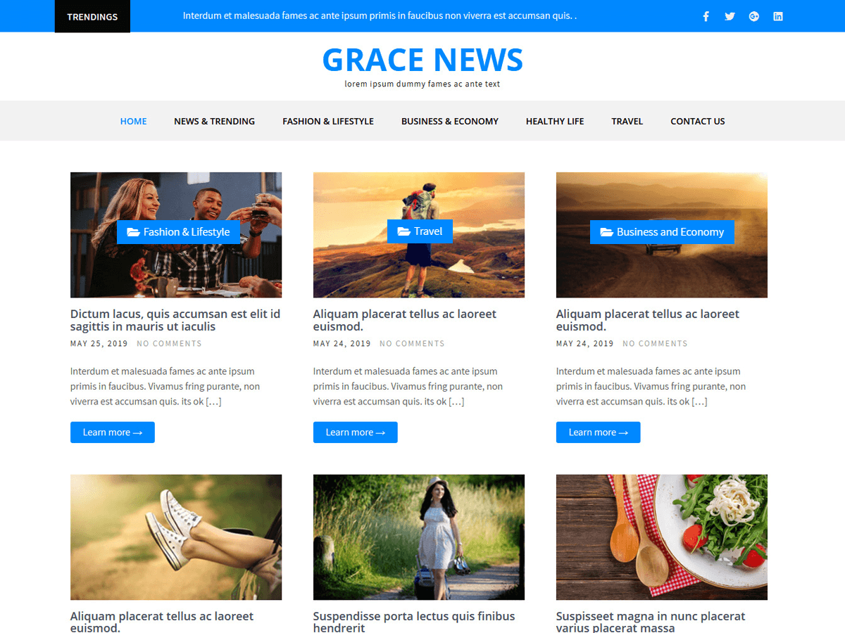 gracenews wordpress theme