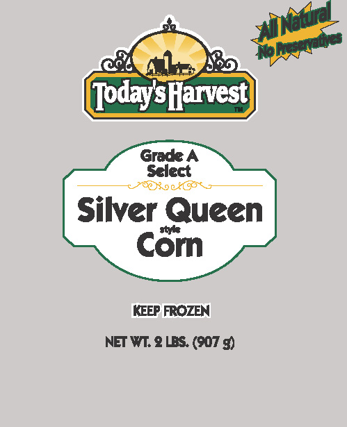 Today's Harvest Silver Queen style Corn, 2 LBS