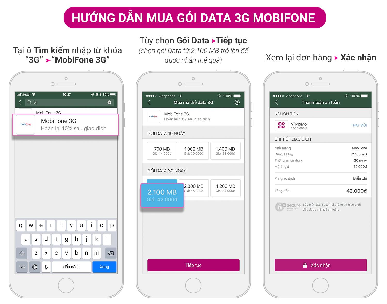 Thêm Data - Xài siêu đã: Mua MobiFone 3G, nhận thêm đến