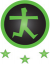 drempelvrij niveau 3 logo (Webrichtlijnen 2, Level AA)