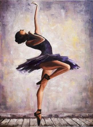 Dancing ballerina Painting by Angelina Ivanova   Saatchi Art