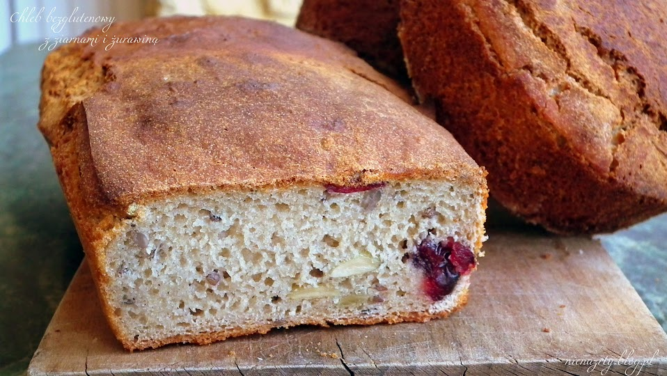 chleb bezglutenowy bez kukurydzy