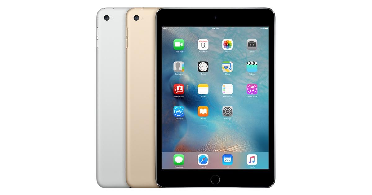 iPad Mini 4, apple, iOS, iPad