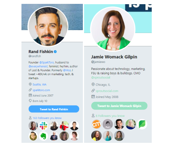 ceo profiles on twitter.