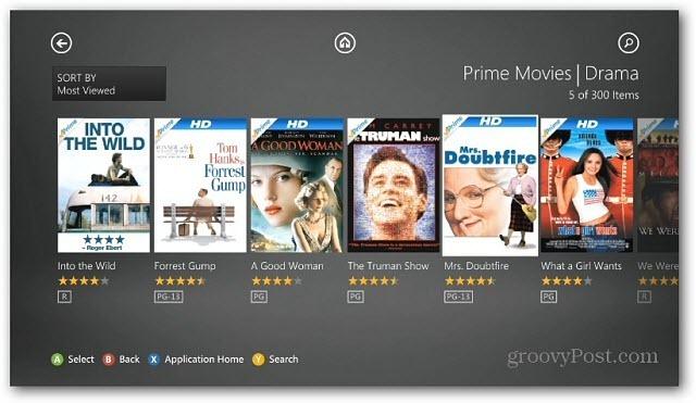 Watch Amazon Prime on Xbox One