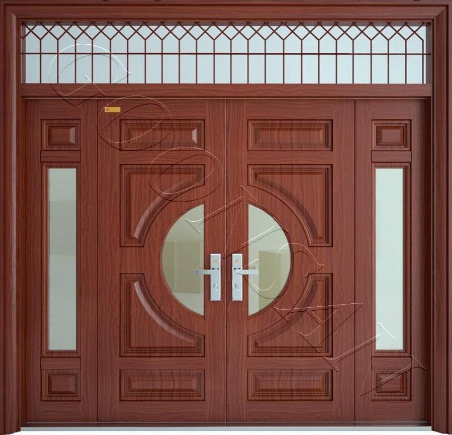 Kết quả hình ảnh cho mẫu cửa thép vân gỗ đẹp