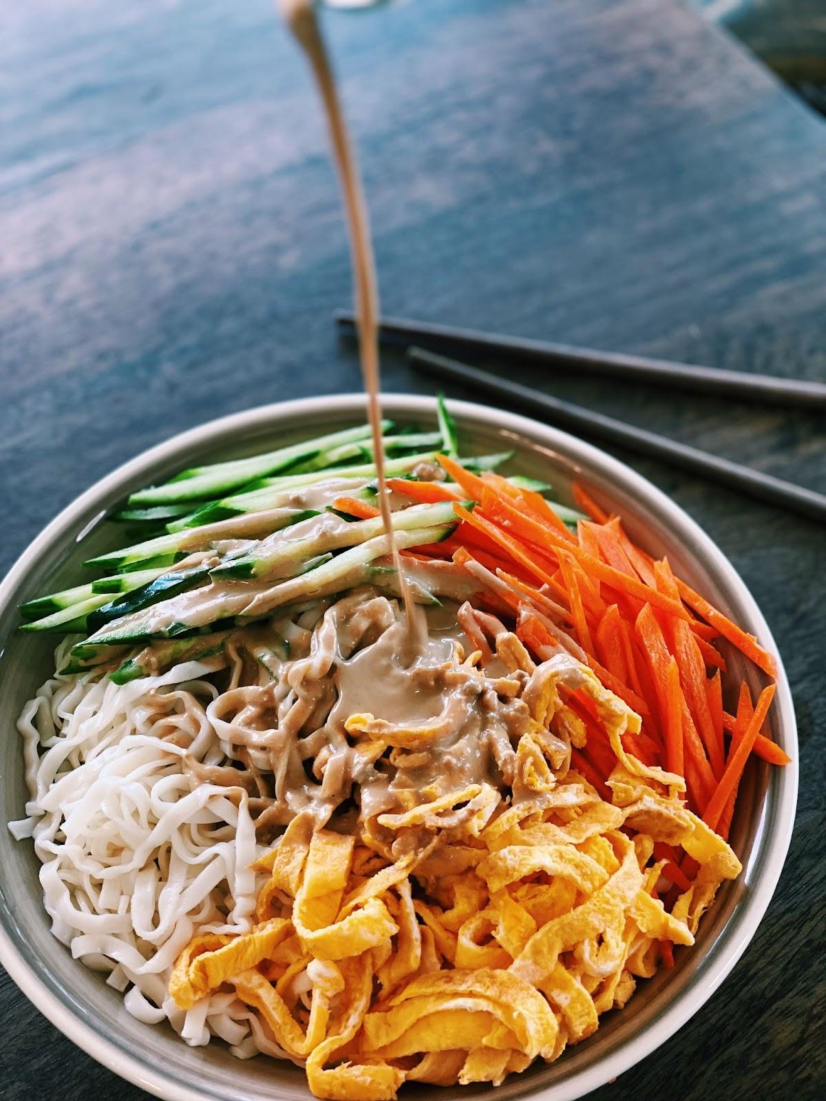 Cold Sesame Noodles (10 Minutes only!)